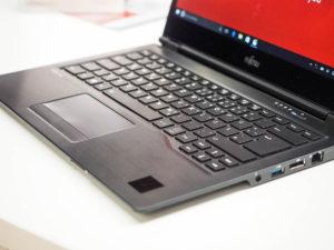 Fujitsu Lifebook U727 met Palm Vein