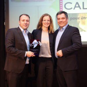 Calipage Europese award