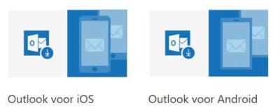 Outlook op PC, Tablet en Smartphone