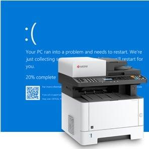 Update 3 – Blue Screen bij het printen